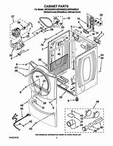 Whirlpool Duet Steam Dryer Parts Manual