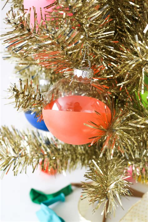 diy balloon dipped ornaments  christmas club crafted
