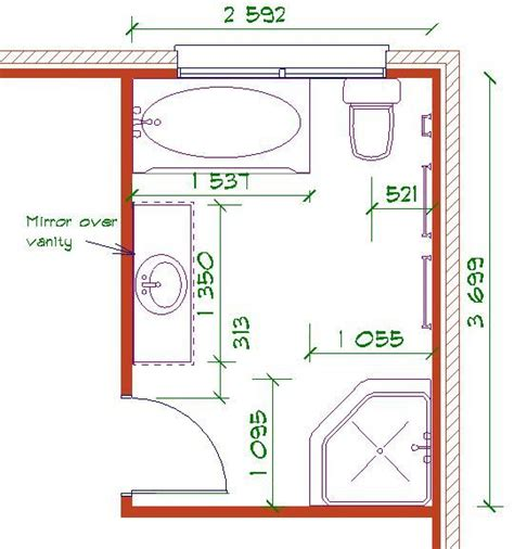 bathroom floor plans free 38 best images about r 233 no salle de bain on pinterest coins pocket doors and bathroom layout