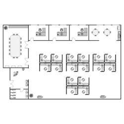 layout design office layout plan