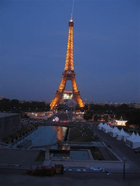 Eiffel Tower Night Light by Paris At Night June 05
