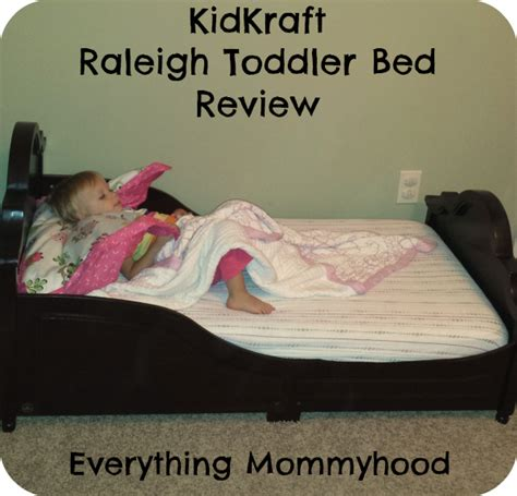 Kidkraft Raleigh Toddler Bed by Kidkraft Raleigh Toddler Bed Review Everything Mommyhood