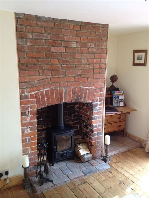 ideas  exposed brick fireplaces  pinterest