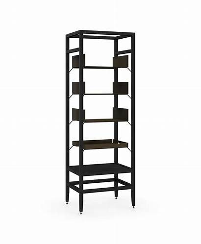 Shelving Unit Tall Volitare Shelves Wood Stained