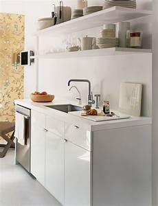 Petite Poubelle Cuisine : am nager une kitchenette c t pratique ~ Nature-et-papiers.com Idées de Décoration