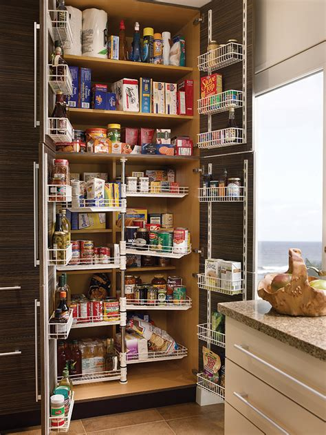 tall chefs pantry wood mode fine custom cabinetry