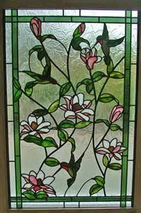 Hummingbird Stained Glass Window Patterns