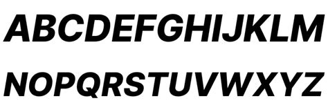 Inter Extra Bold Italic Font - FFonts.net