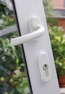 Balkonové dveře se zámkem