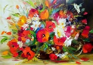 Arte M Gallery : pinturas cuadros lienzos pinturas esp tula leo flores ~ Indierocktalk.com Haus und Dekorationen