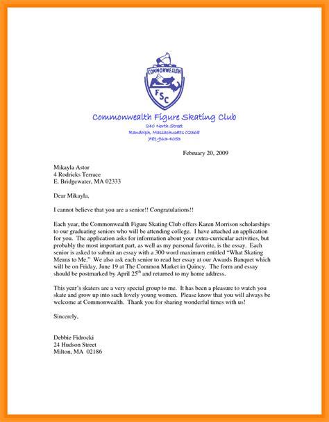 letter of motivation for scholarship bio letter format