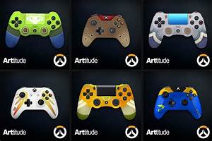 These Unique Overwatch Themed Controllers Are Adorable
