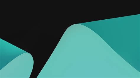 teal curves turquoise vector hd wallpaper preview