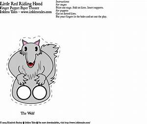 inkless tales featuring the animated alphabet With wolf puppet template