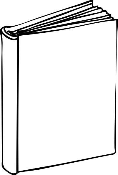 printable book template blank book clip at clker vector clip royalty free domain