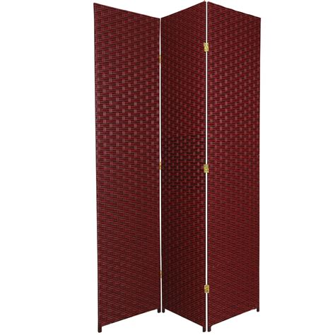 7 Ft Tall Woven Fiber Room Divider  Ebay. Built In China Cabinet. Tv Stands With Wheels. Four Poster Bed Canopy. Cabinet Door Styles. Shattered Glass Table. Cabinets Plus. Ironware International. Vanities For Bathroom