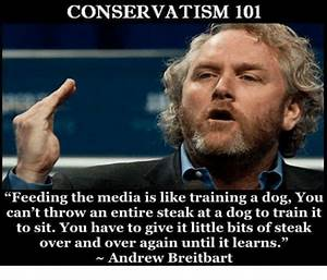 CONSERVATISM 10... Andrew Breitbart Famous Quotes
