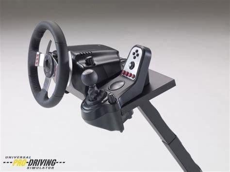 tour pc bureau test universal pro driving simulator support volant