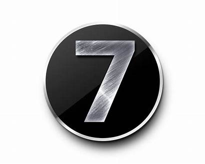 Number Metal Numbers Transparent Template Psd Psdgraphics