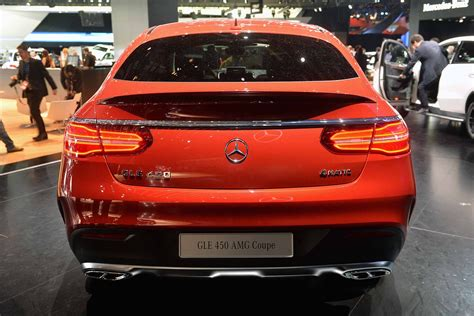 We analyze millions of used cars daily. 2016 Mercedes Benz GLE 450 AMG Sport Coupe Rear | Chainimage
