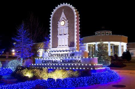 christmas lights edmond ok uco press release uco invites community to celebrate the