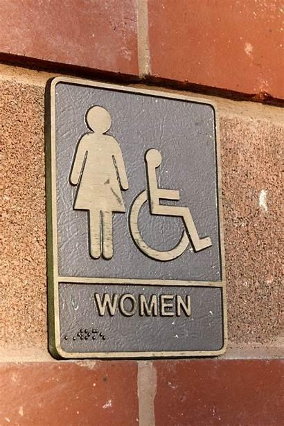 Sign Brass Restroom Plaque Bathroom Womens Toilet