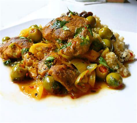 cuisine marocaine poulet aux olives tajine de poulet aux olives vertes recette ramadan 2017