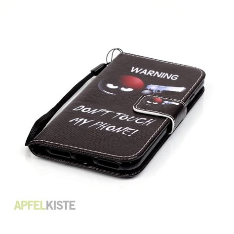 iphone 8 hülle leder iphone 8 iphone 7 ledertasche don 180 t touch my phone