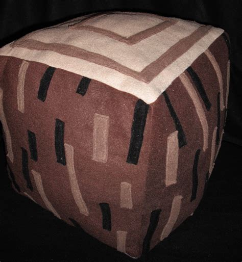 inspired plush pillows by cutesykats on deviantart minecraft plushie wood by ablesistersfancrafts Minecraft