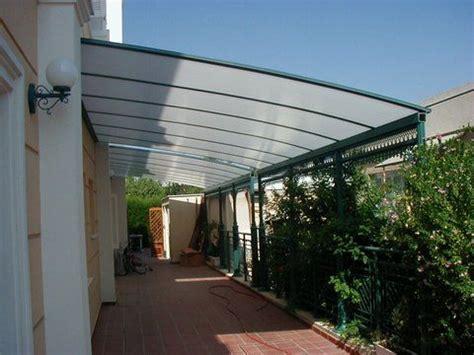patio pergola roof and plastic on