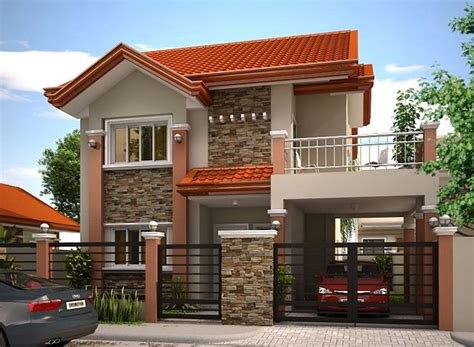 mhd  philippines house design house front design