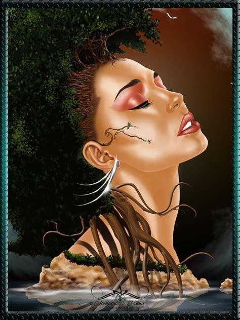mother nature illustration  alessandro pinna ego