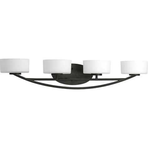 progress lighting calven  light   forged black drum