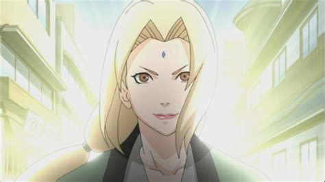 tsunade helps raikage naruto shippuden  daily anime art