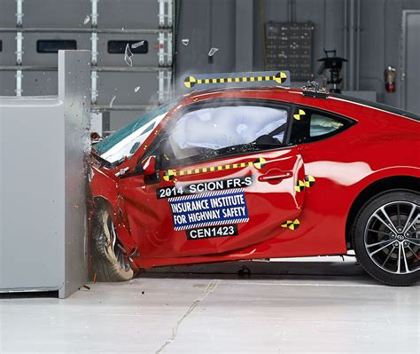 subaru brz scion fr  earn iihs top safety pick rating