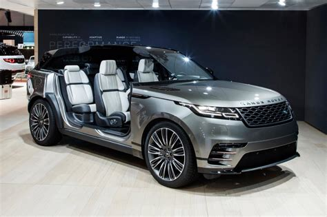 New Range Rover Velar SUV - official pictures