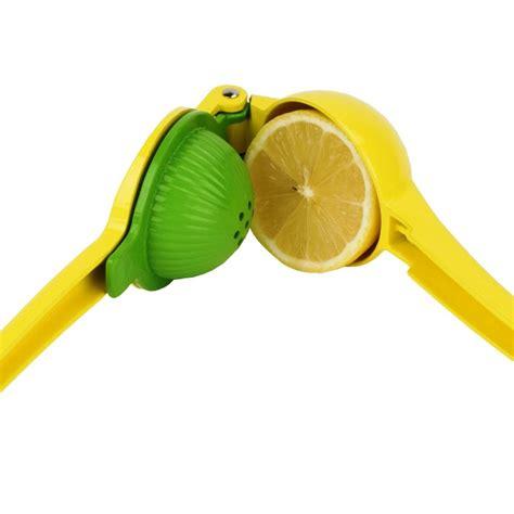 lemon juicer squeezer hand lime citrus held juice manual orange press fruit 2in1