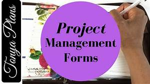 Project management forms and template format examples for Franklin covey templates pdf