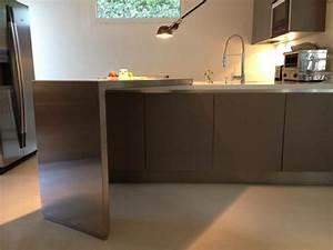 Plan De Travail Pour Bar : cuisine inox bar inox d 39 appoint ~ Dailycaller-alerts.com Idées de Décoration