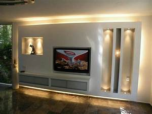 Tv Media Wand : trockenbau tv wand wohnen pinterest tv walls tvs and cabinet plans ~ Sanjose-hotels-ca.com Haus und Dekorationen