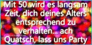 Geburtstagssprüche 50 Frau Lustig Hübsch Glückwünsche Zum