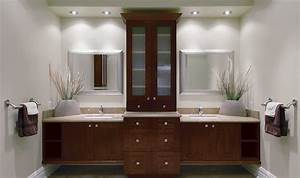37 wonderful bathroom cabinet ideas freshouzcom for Bathroom cabinets calgary