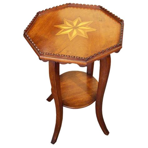 decorative side tables antique decorative inlaid side table at 1stdibs 3129