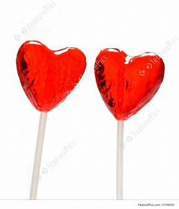Heart Shaped Lollipops Stock Picture I1169453 at FeaturePics