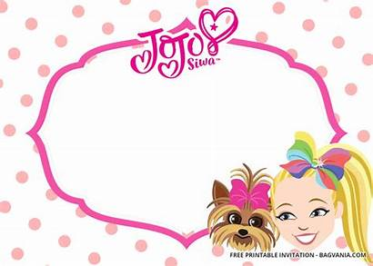 Jojo Siwa Birthday Invitation Templates Printable Invitations