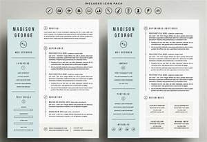 the best cv resume templates 50 examples design shack With free 2 page resume template
