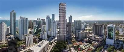 Brickell Miami Construction Flatiron Penthouse International Revuelta