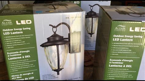 how to install outdoor light fixture altair led outdoor