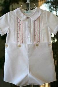 SMOCKING / HEIRLOOM BOYS on Pinterest | Smocking Boy Christening Outfit and Bubbles
