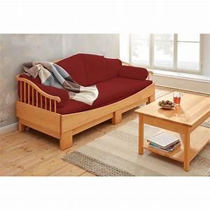 Sofa 2 Und 3 Sitzer : 3 sitzer sofa bordeaux ~ Bigdaddyawards.com Haus und Dekorationen
